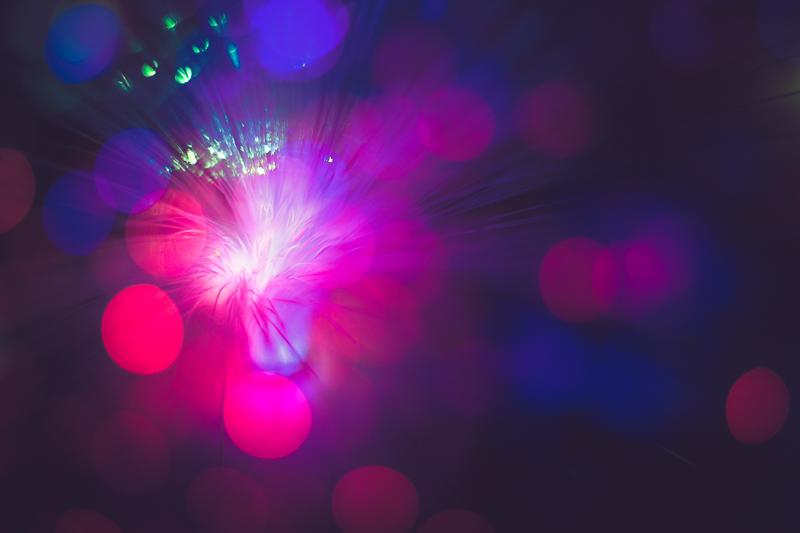 fibre optic artistic